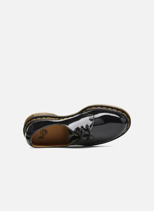 Snörade skor Dr. Martens 1461 w Svart bild från vänster sidan