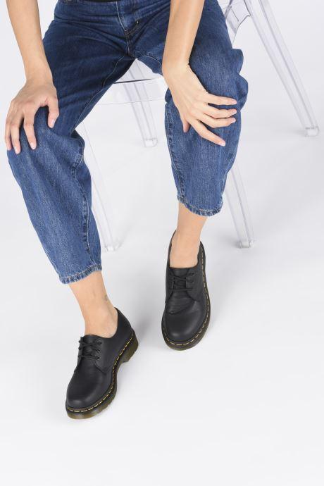 Chaussures à lacets Dr. Martens 1461 W Noir vue bas / vue portée sac