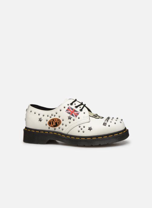 Chaussures à lacets Dr. Martens 1461 W Blanc vue derrière