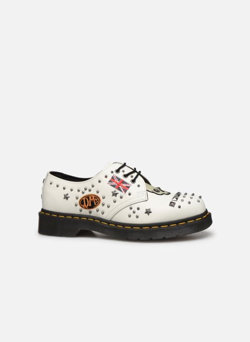 Lace-up shoes DR. Martens 1461 w White back view