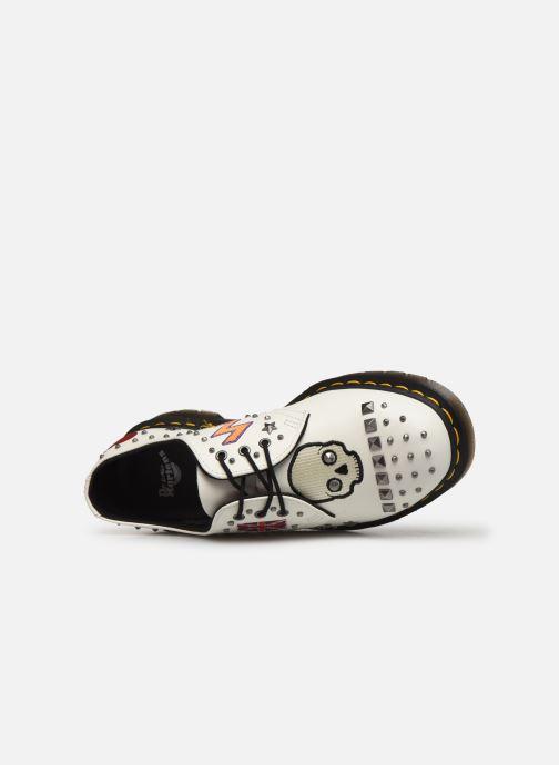Chaussures à lacets Dr. Martens 1461 W Blanc vue gauche