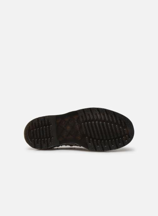 Chaussures à lacets Dr. Martens 1461 W Blanc vue haut