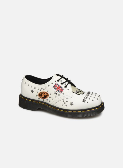 Lace-up shoes DR. Martens 1461 w White detailed view/ Pair view