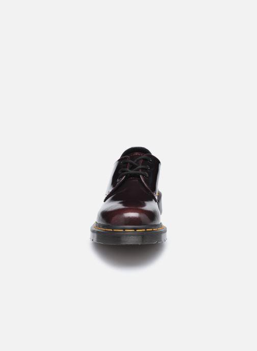 Chaussures à lacets Dr. Martens 1461 W Bordeaux vue portées chaussures