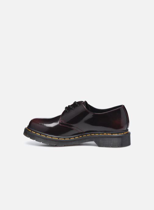 Zapatos con cordones DR. Martens 1461 w Vino vista de frente