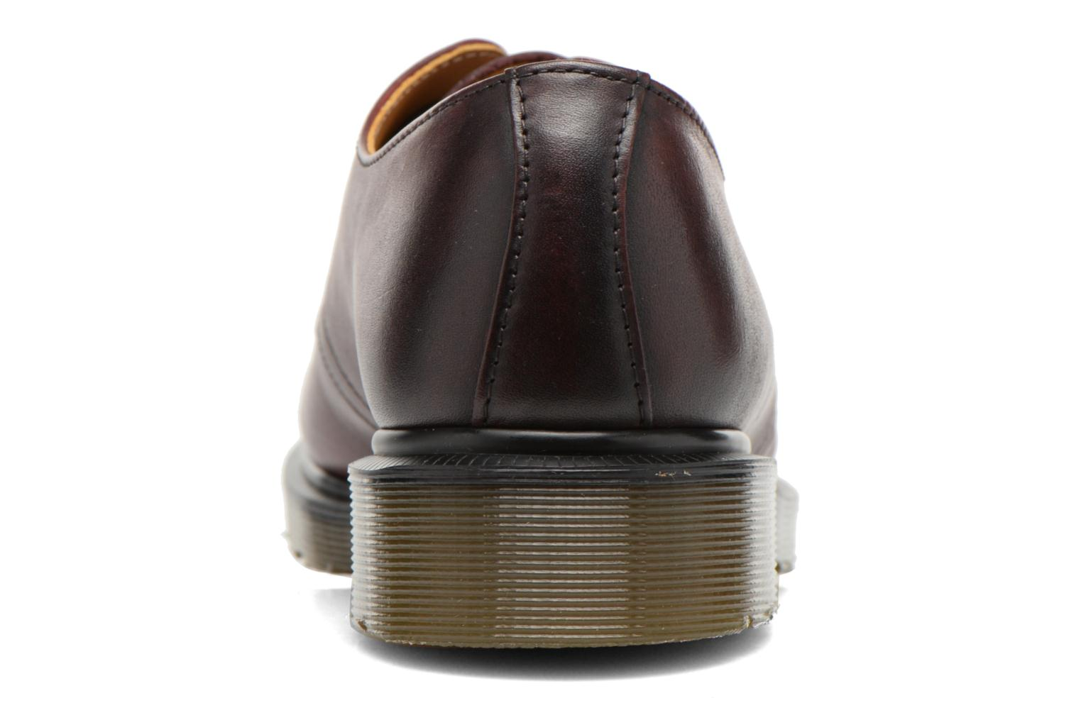 Lace-up shoes DR. Martens 1461 w Burgundy view from the right
