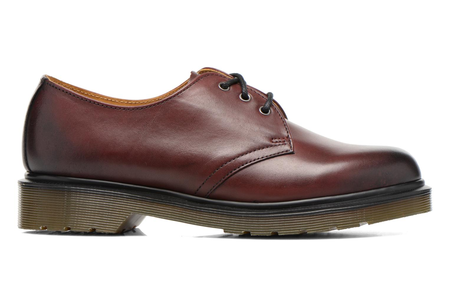 Lace-up shoes DR. Martens 1461 w Burgundy back view