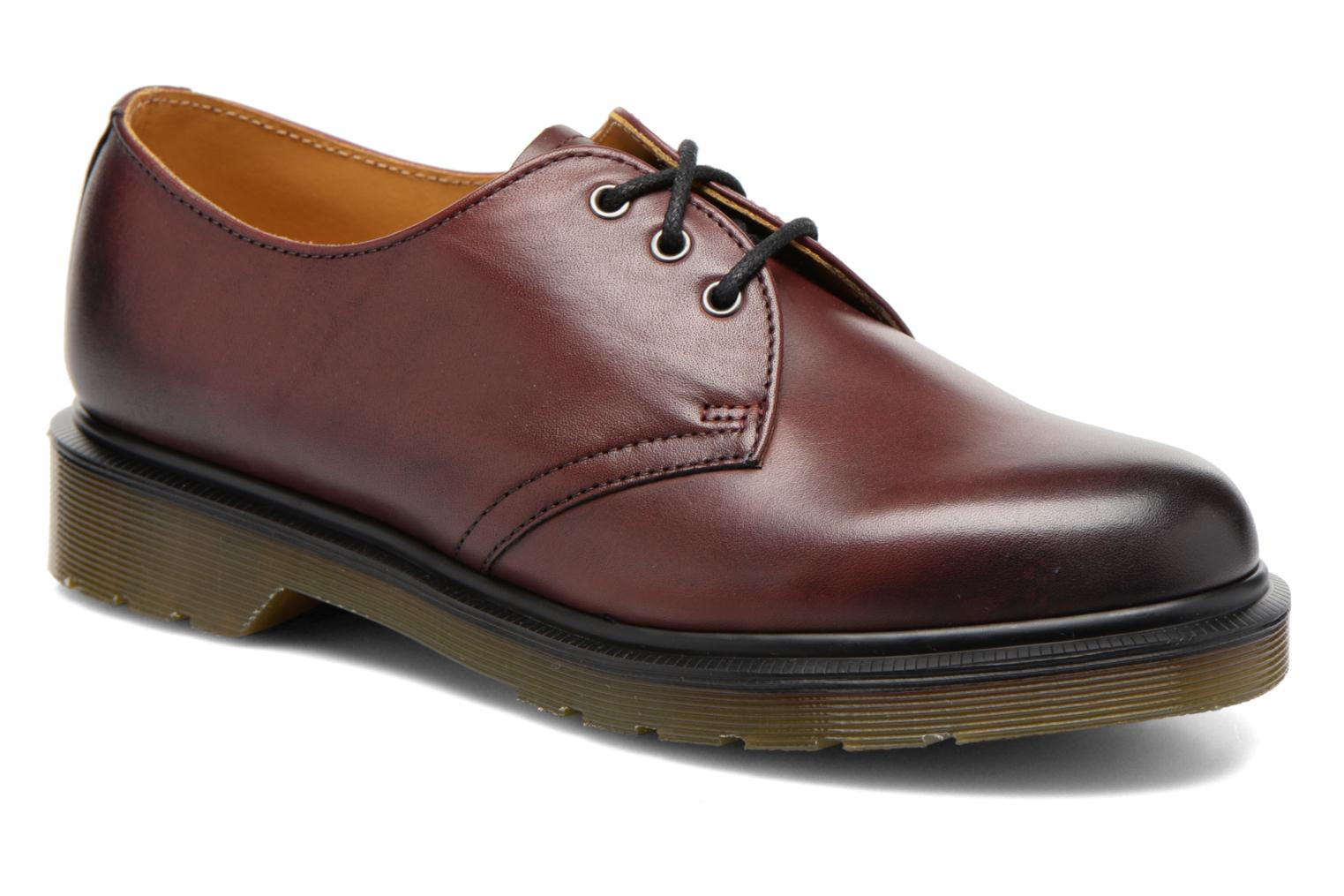 Veterschoenen DR. Martens 1461 w Bordeaux detail