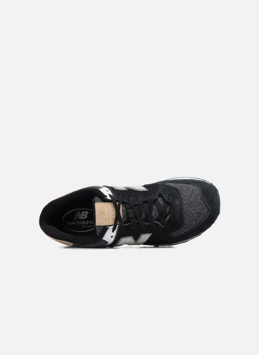 Sneaker New Balance Ml574 schwarz ansicht von links