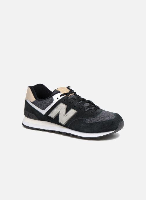 Sneaker New Balance Ml574 schwarz detaillierte ansicht/modell