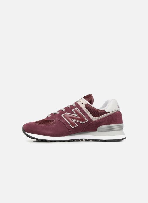 Sneakers New Balance Ml574 Oranje voorkant