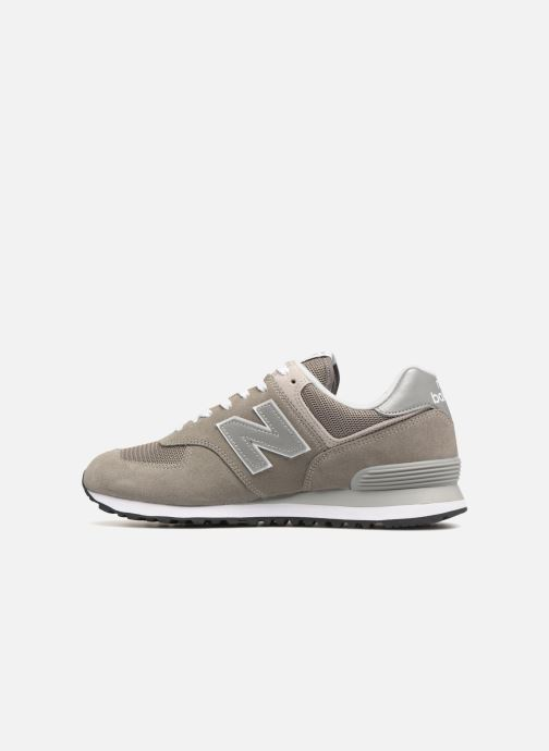 Sneakers New Balance Ml574 Grå se forfra