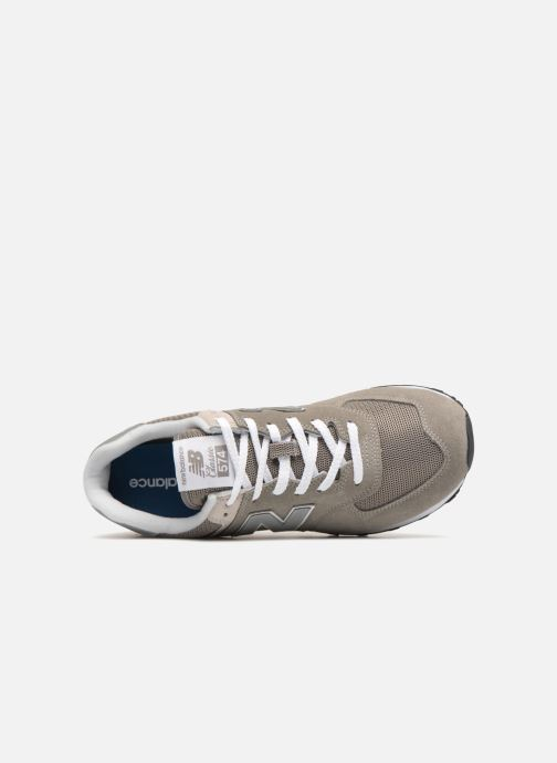 Trainers New Balance Ml574 Grey view from the left