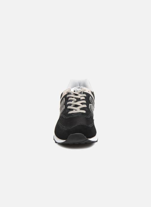 Baskets New Balance Ml574 Noir vue portées chaussures