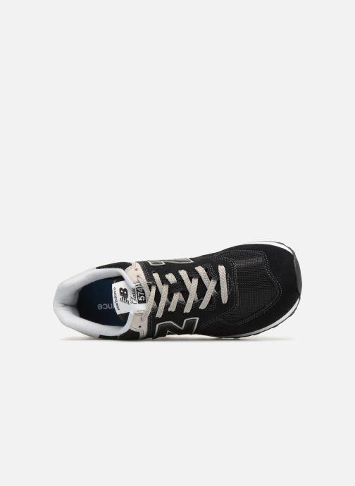Sneakers New Balance Ml574 Zwart links