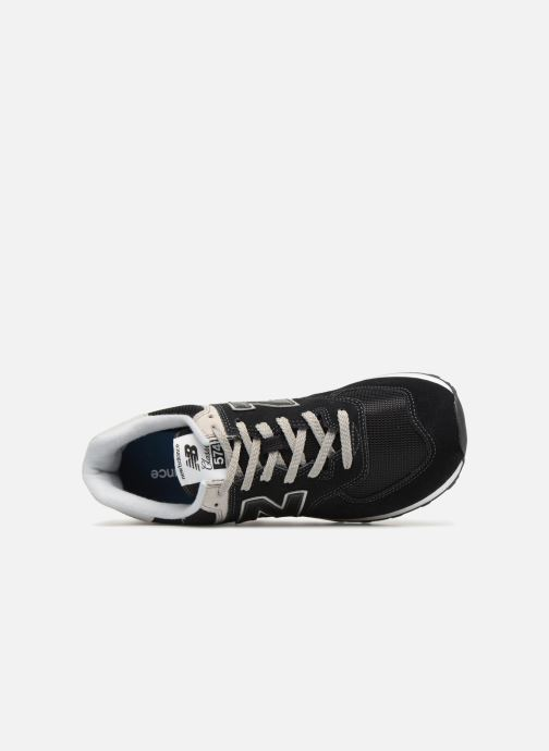 Trainers New Balance Ml574 Black view from the left