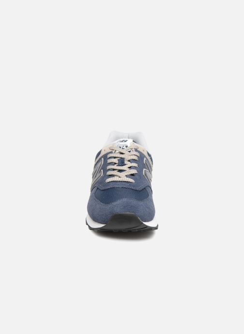 Trainers New Balance Ml574 Blue model view