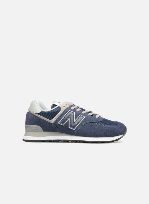 Trainers New Balance Ml574 Blue back view