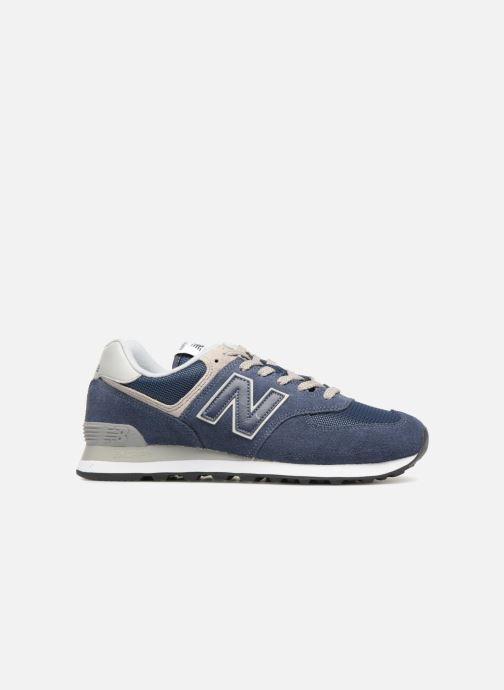 Sneakers New Balance Ml574 Azzurro immagine posteriore