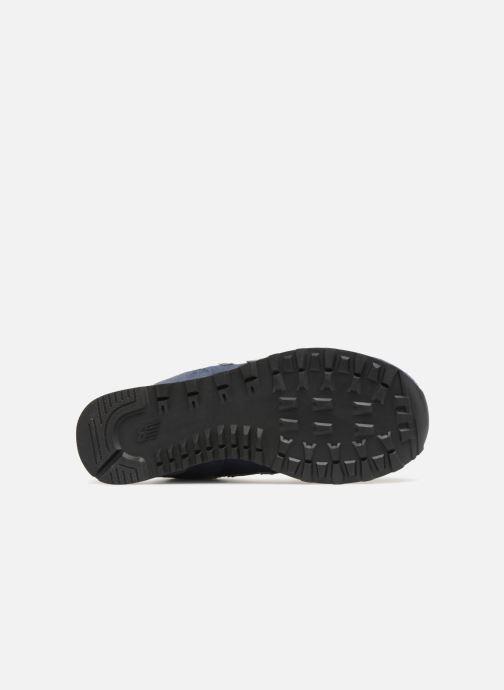 Sneakers New Balance Ml574 Azzurro immagine dall'alto