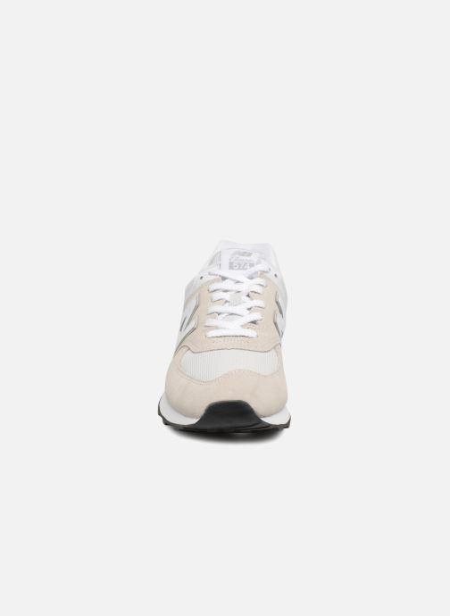 Baskets New Balance Ml574 Gris vue portées chaussures