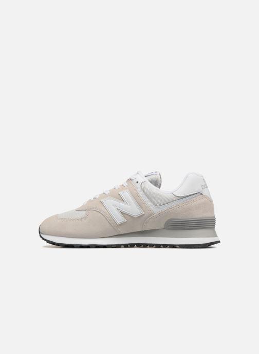Sneaker New Balance Ml574 grau ansicht von vorne