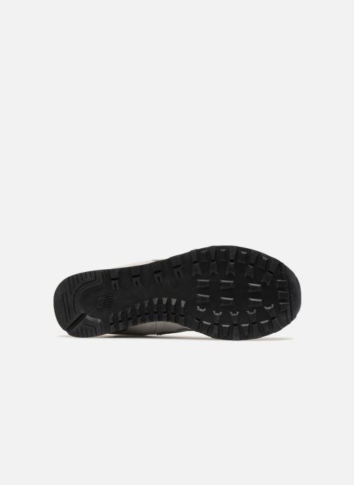Sneaker New Balance Ml574 grau ansicht von oben
