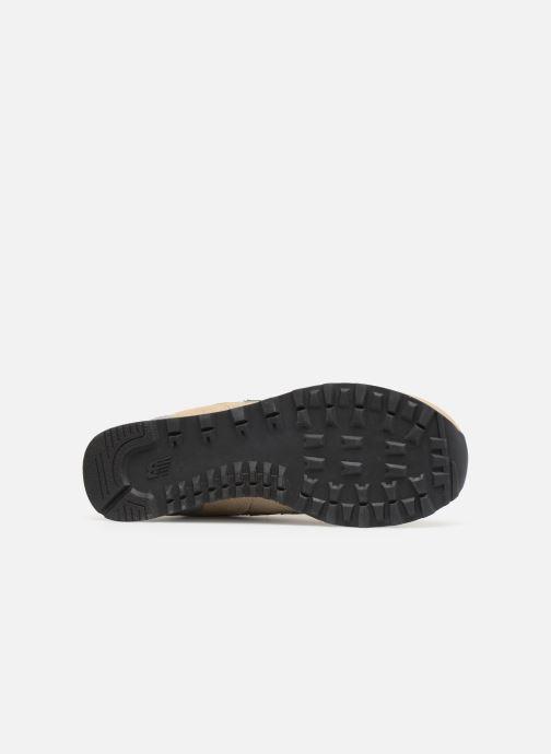 Sneaker New Balance Ml574 weiß ansicht von oben