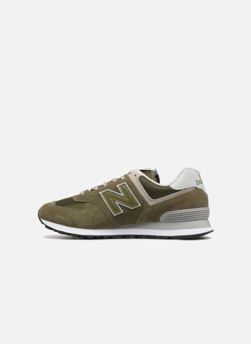 Sneakers New Balance Ml574 Verde immagine frontale