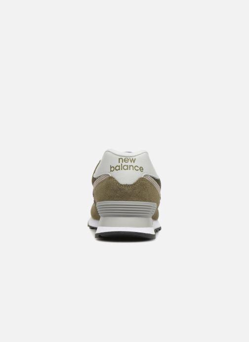 Sneakers New Balance Ml574 Verde immagine destra