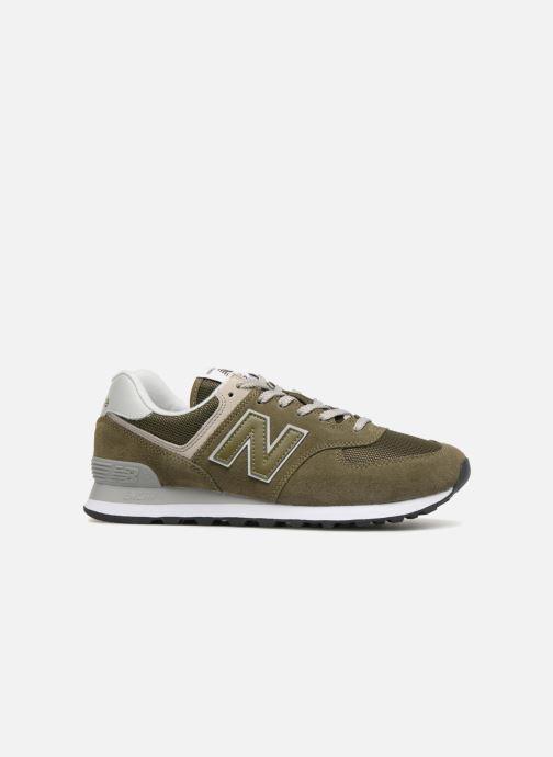 Sneakers New Balance Ml574 Verde immagine posteriore