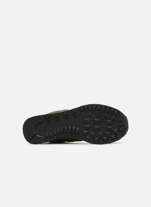 Sneakers New Balance Ml574 Verde immagine dall'alto