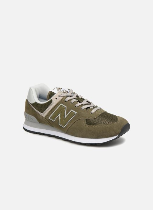 Trainers New Balance Ml574 Green detailed view/ Pair view