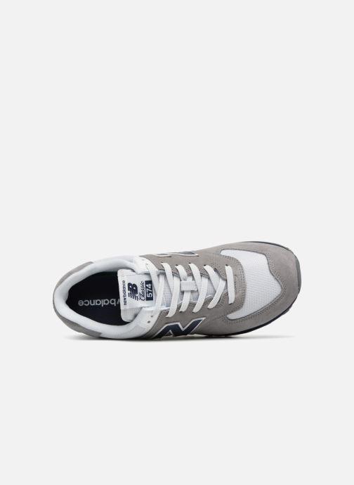 Sneaker New Balance Ml574 grau ansicht von links