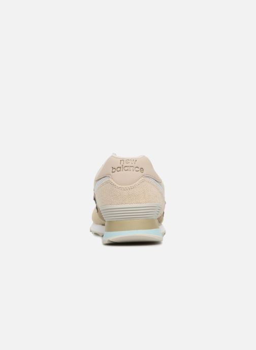 Deportivas New Balance Ml574 Beige vista lateral derecha