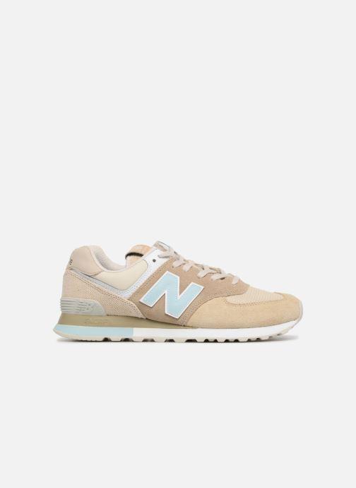 Sneaker New Balance Ml574 beige ansicht von hinten