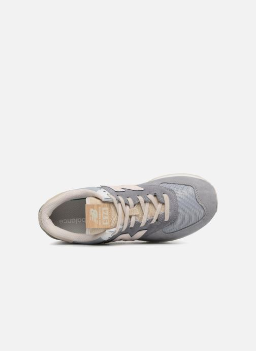 Baskets New Balance Ml574 Gris vue gauche
