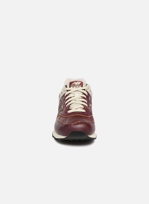 Sneaker New Balance Ml574 rot schuhe getragen