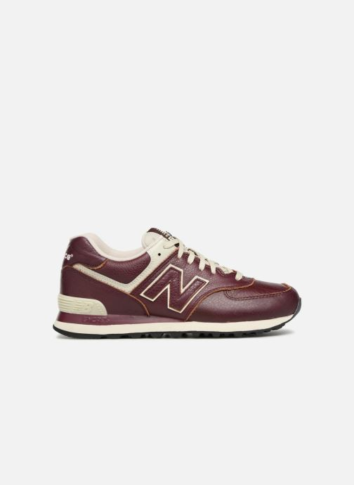 Sneaker New Balance Ml574 rot ansicht von hinten