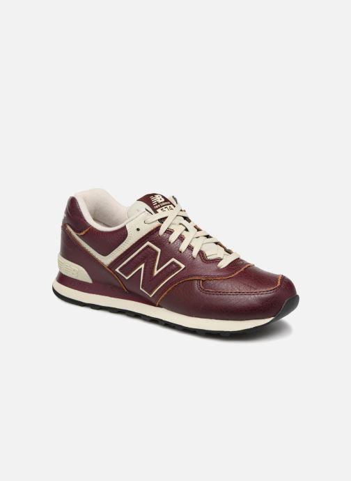 Sneaker New Balance Ml574 rot detaillierte ansicht/modell