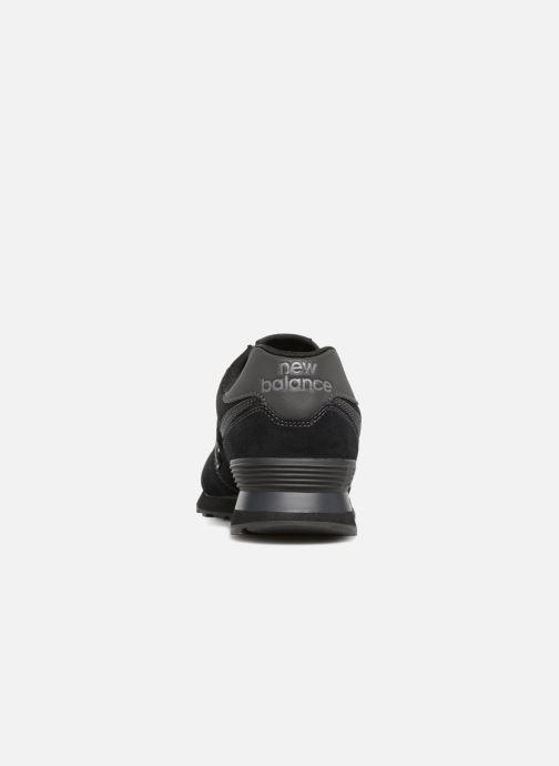 Sneakers New Balance Ml574 Zwart rechts
