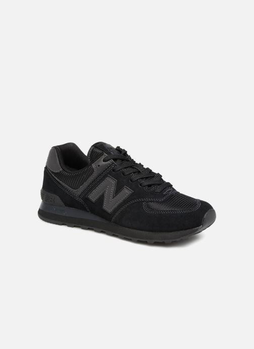 Sneakers New Balance Ml574 Sort detaljeret billede af skoene