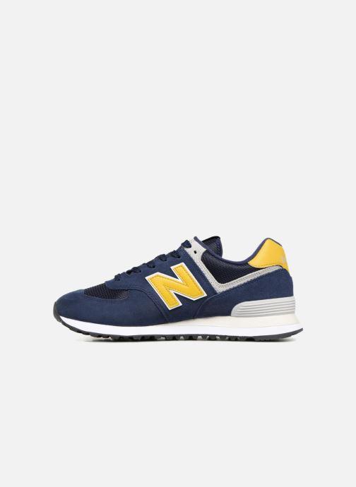 Sneaker New Balance Ml574 blau ansicht von vorne