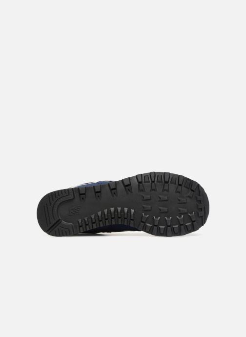 Sneaker New Balance Ml574 blau ansicht von oben