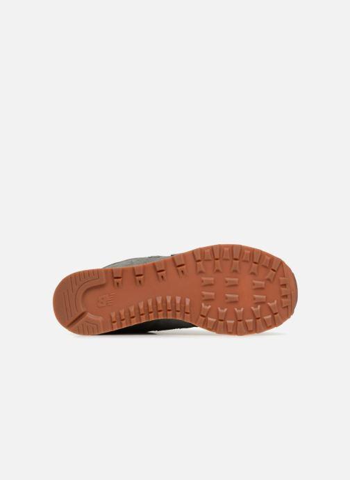 Sneaker New Balance Ml574 grün ansicht von oben
