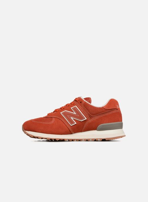Baskets New Balance Ml574 Orange vue face