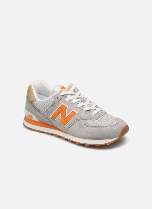 Trainers New Balance Ml574 Grey detailed view/ Pair view