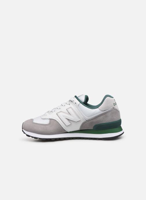Sneaker New Balance Ml574 weiß ansicht von vorne