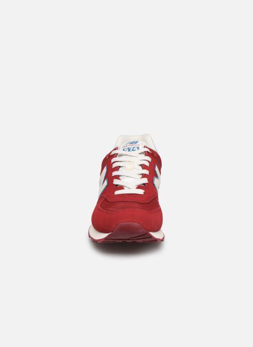 Baskets New Balance Ml574 Bordeaux vue portées chaussures