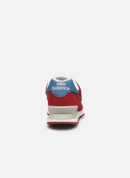 Sneakers New Balance Ml574 Bordeaux rechts